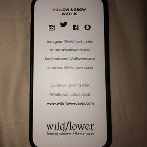 Wildflower Accessories - Wildflower iPhone 7/8 plus case